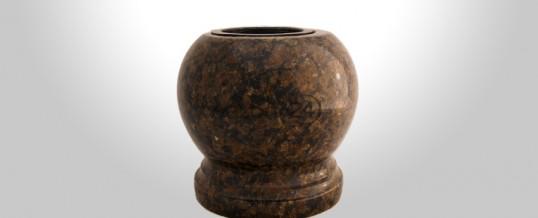 Kulowazon granitowy Coffee Brown