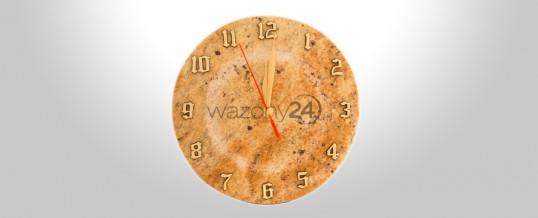 Zegar z granitu 1