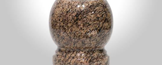 Kulowazon granitowy Brazylian Gold
