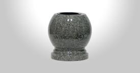 Kulowazon granitowy Kuru Gray