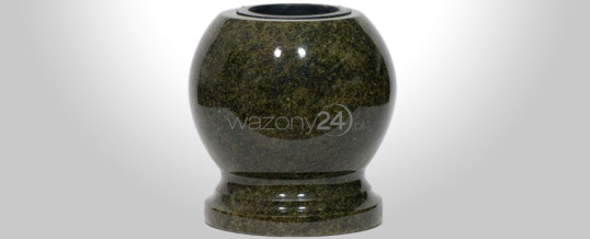 Kulowazon granitowy Tropical Green
